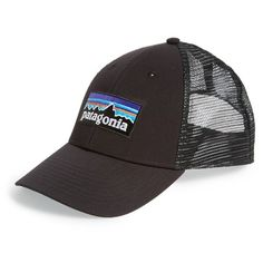987df65030c Patagonia  PG - Lo Pro  Trucker Hat (45 NZD) ❤ liked on Polyvore featuring  accessories