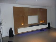 ... images about Tv Wand on Pinterest  TVs, Tv walls and Tv wall design