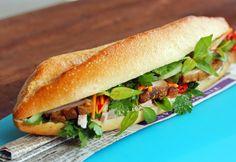 Sandwich á la Vietnam - BANH MI - Zu finden auf: https://asiastreetfood.com/rezepte/banh-mi-sandwich-a-la-vietnam/