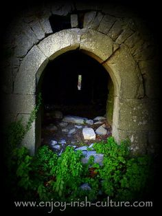 Lovely stonework around the door of one of the many thousands of tower house castles in Ireland- Ballinduff Castle in County Galway, which overlooks Lough Corrib is a beautiful spot. Click on the photo to see it on our Facebook page along with many other beautiful Ireland photos.