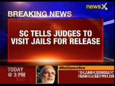 SC orders release of undertrials who have served half their sentence
