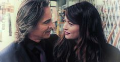 """""""Will Belle and Gold get to be happy for a little while on Once Upon a Time?"""" ---  """"Don't bet on it! Robert Carlyle teases that they'll be content """"maybe in the first episode, but then that's it."""" Wah! Emilie De Ravin points out that Gold is """"bipolar"""" and we shouldn't start thinking he's a good guy."""""""