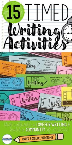 These writing prompts are perfect to add to any classroom. You can use them as a set of daily writing prompts, as a writing unit introduction, as a way to infuse fun writing activities into the classroom, or to build community and spark a love for writing. The best part is that they are designed to help students develop communication and writing skills. Daily Writing Prompts, Writing Skills, Cool Writing, Creative Writing, Fun Writing Activities, Brain Waves, Writer Workshop, Teacher Resources, Communication