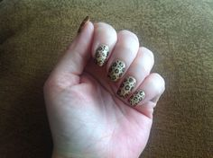 Gradient leopard -- I don't know if I'd exactly call this leopard print... Floating meatballs maybe?