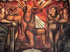 Orozco Mural Omniciencia 1925 Azulejos - Social realism - Wikipedia Diego Rivera, Los Angeles County, Gerardo Murillo, New York City, Clemente Orozco, Social Realism, Art Prints For Sale, Affordable Art, American Art