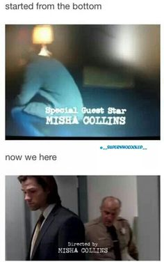 Misha Collins is the overlord
