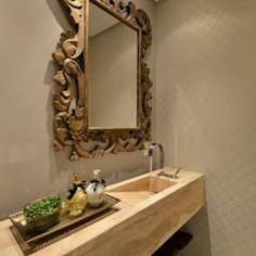 Lavabo S|R: Banheiros clássicos por Redecker + Sperb arquitetura e decoração