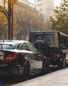 Mercedes-Benz C63 AMG Black Series and G63 AMG - just get that shopping cart hand off the C - class