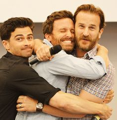 Reason 998745 why I love the SPN cast. Just look at them!!