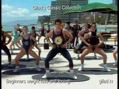 CLASSIC Workout DVD from Gilad. I lost 25 pounds about 10 years ago with this video (VHS then!) along with Gilad's TV show. I heart his DVD's and he generally shoots on location in Hawaii so beautiful back drop!