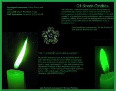 Of Green Candles