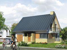 Nowoczesna odsłona projektu Kawka 2(108,20 m2). Pełna prezentacja projektu dostępna na stronie: https://www.domywstylu.pl/projekt-domu-kawka_2.php. #kawka #domy #dom #houses #home #domywstylu #mtmstyl #projektdomu #projektydomow #architektura #architecture #projektygotowe #domytradycyjne #design #insides