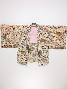 """私の #etsy ショップからエキサイティングな新着商品を紹介します: Japanese haori Jacket """"dyed"""" Free shipping!  No.180124121 #japanesehaori #haori"""