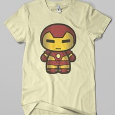 CHIBI IRONMAN VINTAGE GRAPHIC TEE by EOZEN ART at the Shopping Mall, Php500.00