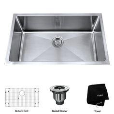 Kraus Undermount Kitchen Sink & Reviews | Wayfair