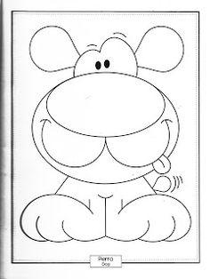Menta Más Chocolate - RECURSOS y ACTIVIDADES PARA EDUCACIÓN INFANTIL: Libro de ANIMALES para colorear Rock Crafts, Diy Home Crafts, Cartoon Drawings, Easy Drawings, Digi Stamps, Chalk Art, Colouring Pages, Doodle Art, Baby Quilts