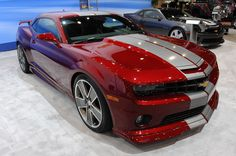 black cars with red stripes | ... %20Camaro%20Red%20Flash%20Concept 2011 Chevrolet Camaro Red Flash