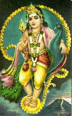 Lord Murugan Hindu god pictures