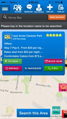 Campedia your ultimate Camping and Caravanning App for Australia Harvey Bay, Stuff To Do, Things To Do, Backpacking, Camping, Bay News, Find Friends, News Sites, Survival Knife
