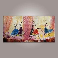 Ballet Dancer Art, Canvas Painting, Abstract Painting, Large Art, Abstract Art, Wall Art, Modern Art, Hand Painted Art, Bedroom Wall Art