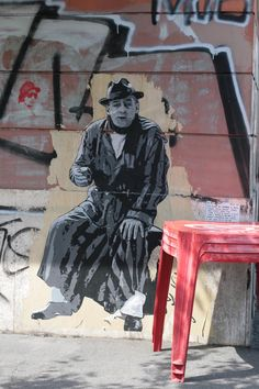 Zilda, Toto, Rome. Street art 000