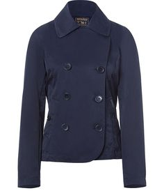 Navy Double-Breasted Easton Jacket