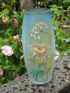 art nouveau vase by legras art nouveau pinterest. Black Bedroom Furniture Sets. Home Design Ideas