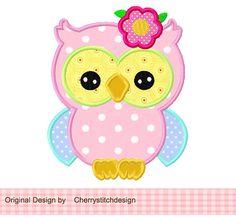 spring flower owl