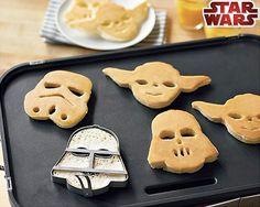 Star Wars Pancake Molds WANT