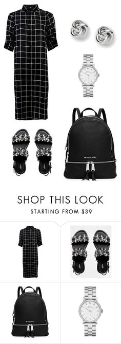 """Simple"" by gold-pineapples ❤ liked on Polyvore featuring Blink, MICHAEL Michael Kors, Marc by Marc Jacobs and FOSSIL"