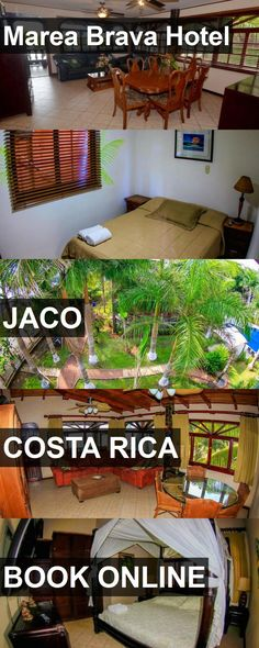 Hotel Marea Brava Hotel in Jaco, Costa Rica. For more information, photos, reviews and best prices please follow the link. #CostaRica #Jaco #MareaBravaHotel #hotel #travel #vacation