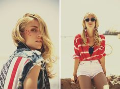 American Wild Child by LF - patriotic fashion