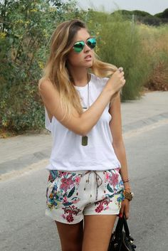 anne makeup®: mural fashion: shortinho estampado e vitrine de compras