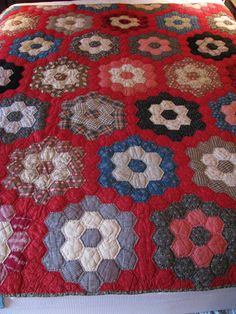 Collector With A Needle: Minnesota Hex's by Way of Texas Quilt c. 1890
