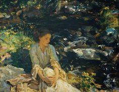 The Black Brook - John Singer Sargent