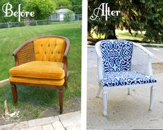 Convert a thrift shop treasure into a weather resistant gem for your deck or patio.