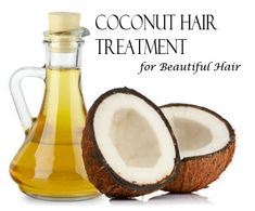DIY coconut hair spa treatments at home for dandruff, split ends, hair fall, dry hair, and damaged hair. A few drops of coconut oil in the ends of your hair at night or after a shower helps moisturize and helps split ends Hair Treatment At Home, Coconut Oil Hair Treatment, Coconut Oil Hair Growth, Coconut Oil Hair Mask, Hair Growth Treatment, Vaseline, Natural Hair Care, Natural Hair Styles, Natural Beauty