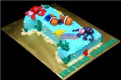 Bake At Home | Cake | Cupcakes | Tartlets | Figurines Cake | Wedding Cake | Edible Image: Cake | Finding Nemo Cake