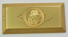 Large Gold Dwarven Metal Bar