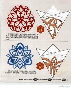 Verschiedene Schneeflocken basteln - Schablonen und Mustern-dekoking-com-8