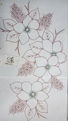 Trendy Ideas For Embroidery Patterns Ideas Fabrics