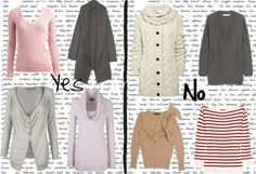 Sweaters - Yes and No