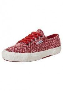 Superga Tenisówki i Trampki czerwony Sneakers, Shopping, Tennis, Slippers, Sneaker, Shoes Sneakers, Women's Sneakers
