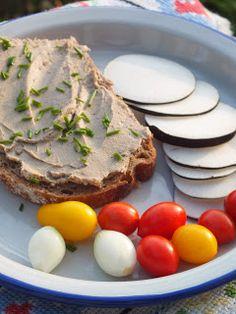 Ízőrző: Májkrém házilag Izu, Eggs, Breakfast, Food, Morning Coffee, Essen, Egg, Meals, Yemek
