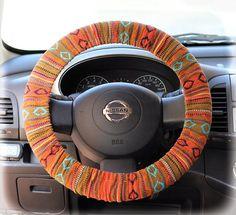 Marvel DC SUPERGIRL Black Steering Wheel Cover Universal-fit car truck suv van