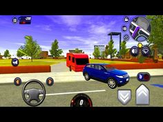 Range Rover Tow Caravan City Parking Drive - 🚓🚦Car Driving School Simulator 🚕🚸 - Android Gameplay - YouTube