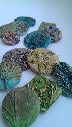 Polymer clay by Lubica Vinicenko, via Flickr