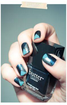 So cute nail art!
