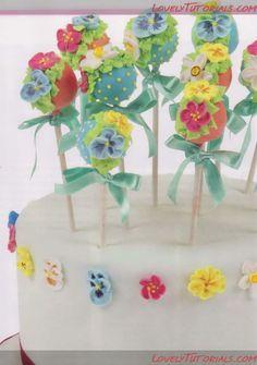 cake tutori, cakecooki decor, cake decorating tutorials, cakepop tutori, cake pop, flower cake