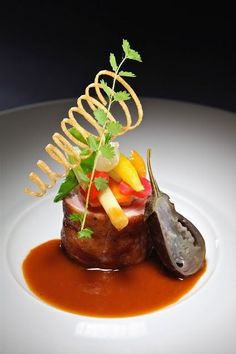 Image result for michelin star plating